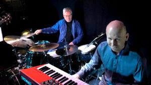 Per Stokkebryn og Harald Bach-Gansmo på YesYes Pub Årnes.
