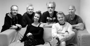 John Arne Paulsen, Per Stokkebryn, Sofie Almåsvold, Arild Eriksen, Kristian Bergh og Harald Bach-Gansmo.
